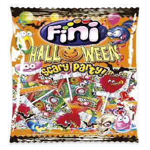Babydélice Sachet Scary Party Halloween, gélifiés + sucettes + chewing-gum
